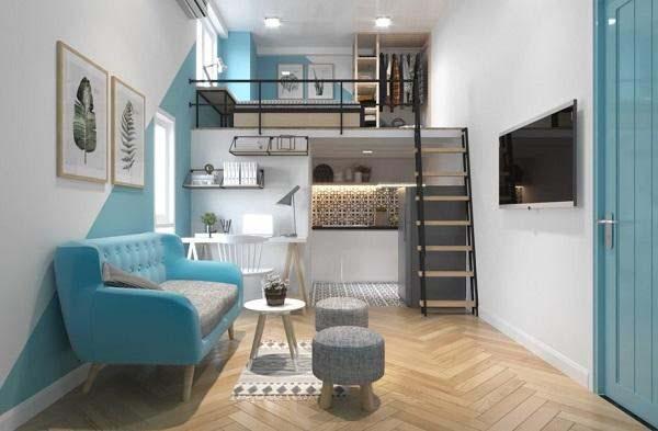 Nhà trọ 2 tầng được nhiều người muốn làm do mức đầu tư vừa phải