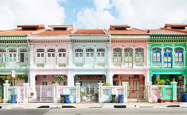 Mô hình Shophouse xuất hiện từ thế kỉ 19