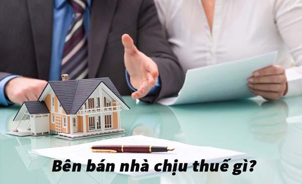 Bán nhà có phải chịu thuế không?