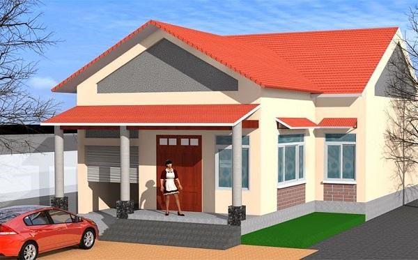Thiết kế nhà cấp 4 9x15m2