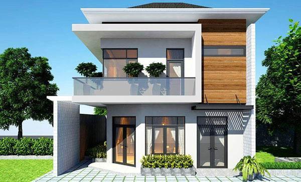 Cách tính chi phí xây nhà 2 tầng 100m2