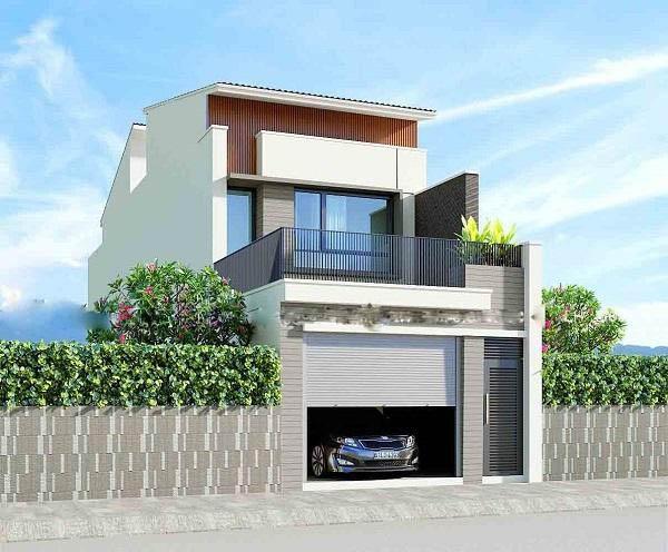 Ngôi nhà 2 tầng thiết kế đầy đủ công năng sử dụng