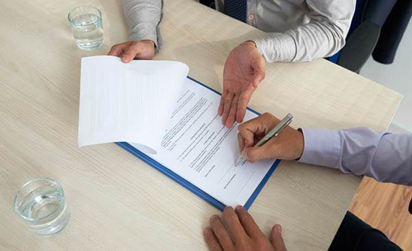 Cách điền mẫu giấy biên nhận tiền đặt cọc mua bán nhà đất