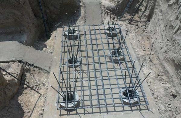 Kết cấu móng cọc nhà đơn 2 tầng