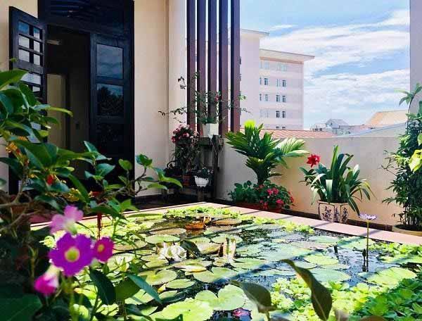 Thiết kế vườn thượng uyển trên sân thượng