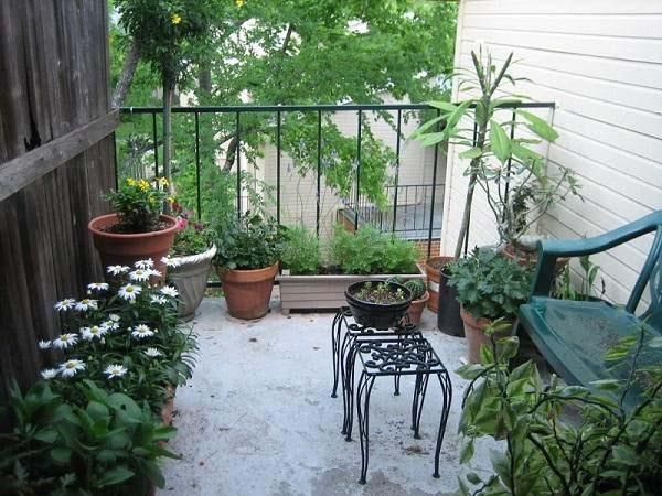Thiết kế sân vườn cho sân thượng nhỏ
