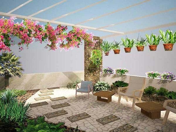 Thiết kế vườn sân thượng có tiểu cảnh