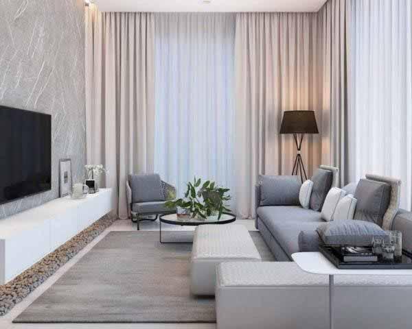Cận cảnh nội thất nhà chung cư 70m2 đẹp và hiện đại