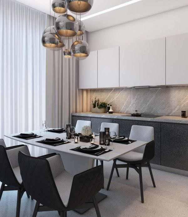 Thiết kế phòng bếp cho chung cư 70m2