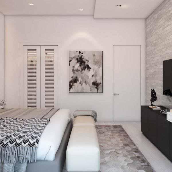 Mẫu phòng ngủ chung cư 70m2 số 3