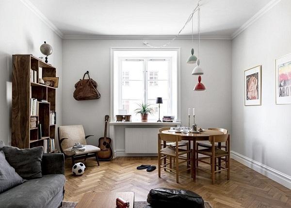 Căn nhà diện tích nhở với không gian lãng mạn, trẻ trung