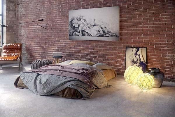 Phòng ngủ này phù hợp với những ai yêu thích sự phóng khoáng