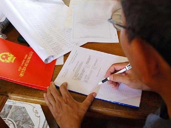 Hồ sơ đăng ký làm sổ đỏ nhà đất
