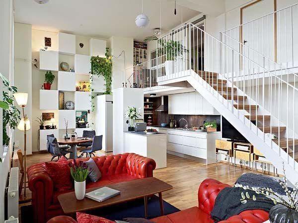 Mẫu phòng khách với mẫu sofa nổi bật