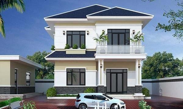 Đơn giá xây dựng nhà 2 tầng tính trên m2