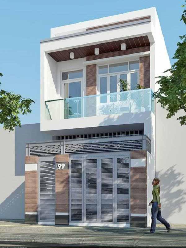 Bí quyết xây nhà 2 tầng 300 triệu tiết kiệm nhất