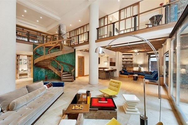 Căn hộ Duplex thoải mái sắp xếp đồ nội thất