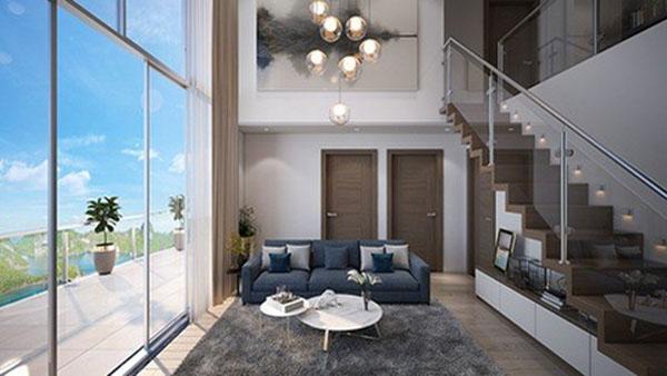 Căn hộ Duplex tận dụng được tối đa nguồn sáng