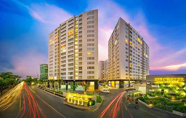 Chung cư Sky center – TPHCM