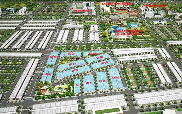 Đất nền tại huyện Hóc Môn có những dự án nào nổi bật?