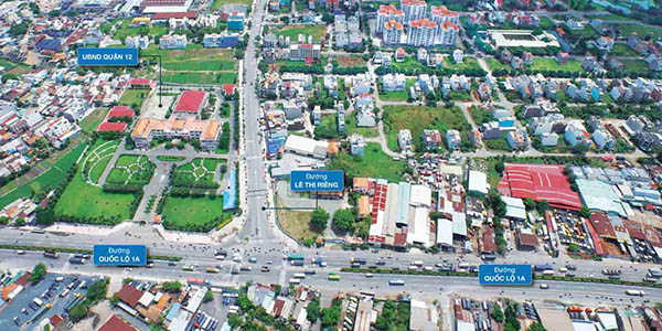 Đánh giá tình hình bất động sản quận 12, thành phố Hồ Chí Minh