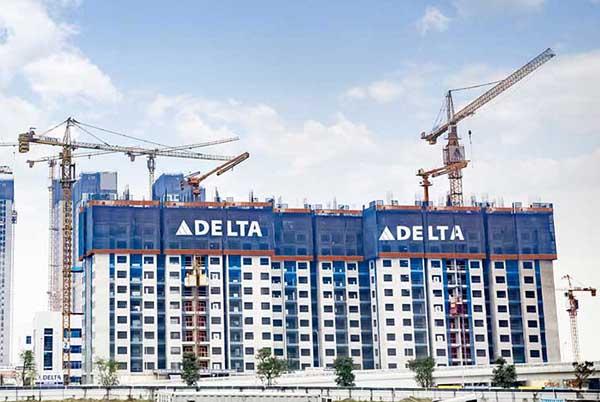 Công ty TNHH Tập đoàn xây dựng Delta